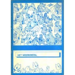 Tom Poes Ballonstrip Het weerkristal Illegale 1e druk 1975 Blauw/wit (Heer Bommel)