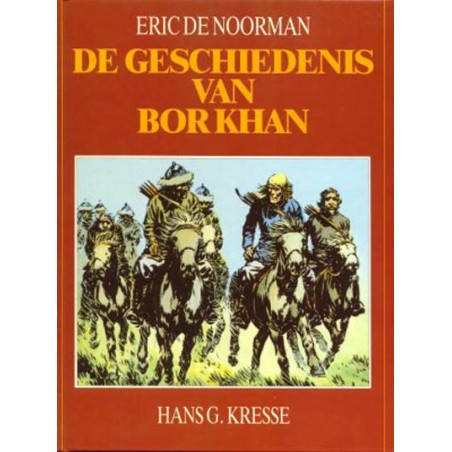 Eric de Noorman Ballonstrip HC De geschiedenis van Bor Khan 1e druk 1988
