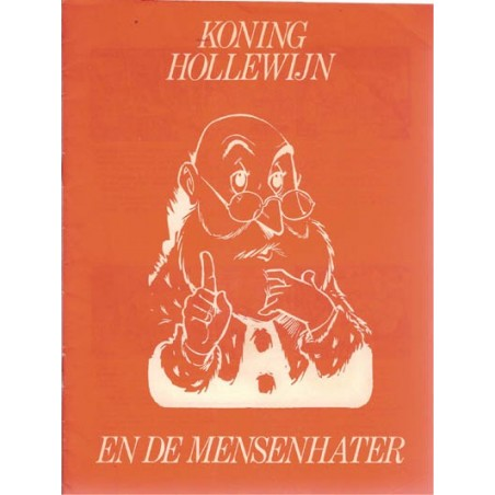 Koning Hollewijn Stripschrift bijlage 12 De mensenhater 1e druk 1969