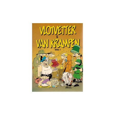 Vlotvetter & Van Krampen set deel 1 t/m 3 1e drukken 1989-1991