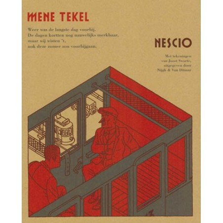 Swarte  strips Mene tekel (naar Nescio)