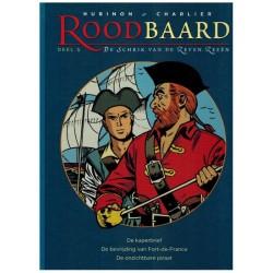 Roodbaard  bundel 05 HC De kaperbrief, De bevrijding van Fort-de-France, De onzichtbare piraat (deel 12, 13, 14)