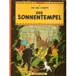 Kuifje Taal Tim und Struppi Der Sonnetempel (De zonnetempel) Duitstalig