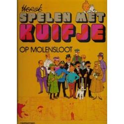 Kuifje SP Spelen met Kuifje set deel 1 & 2 HC 1e drukken 1974