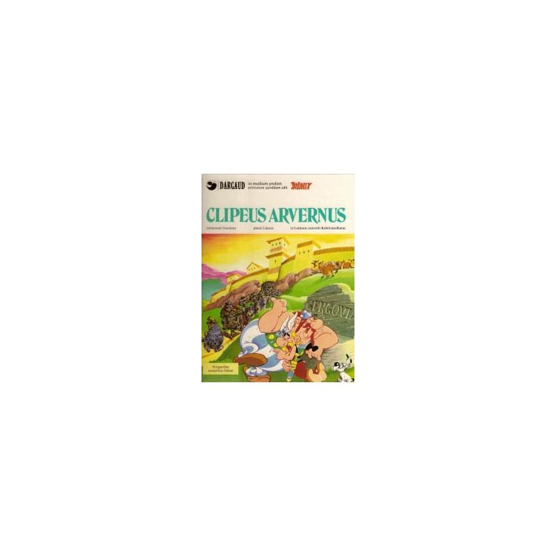 Asterix  Latijn 14 Clipeus Arvernus HC IJzeren schild