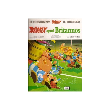 Asterix Latijn 09<br>Apud Britannos HC<br>Britten