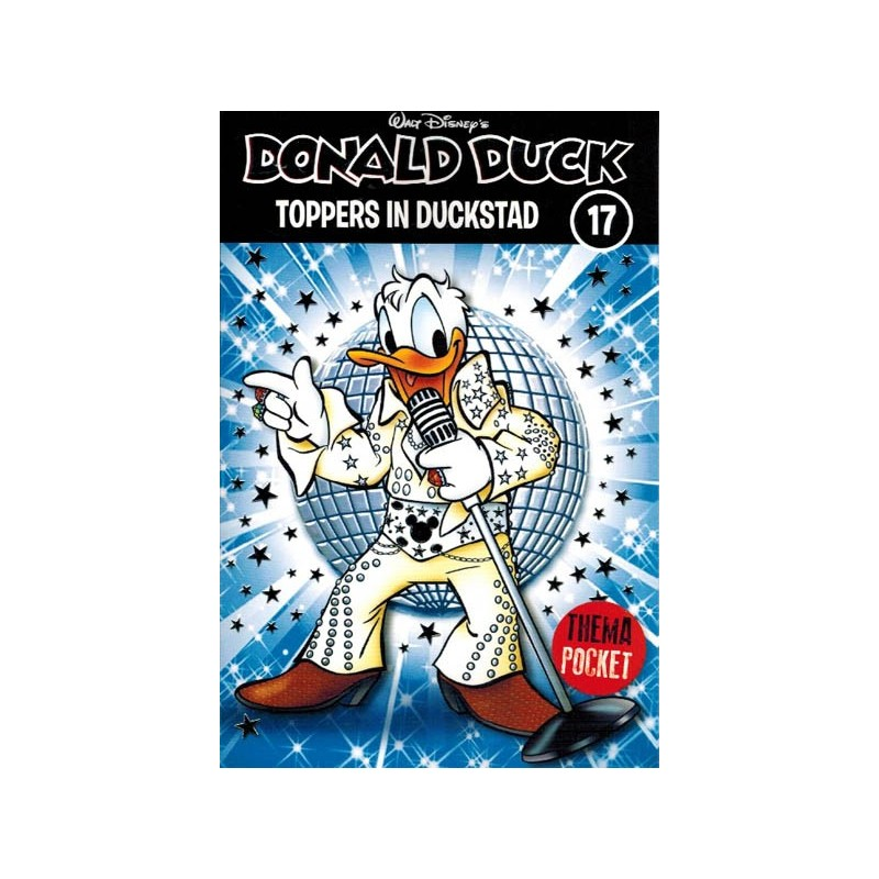 Donald Duck  Dubbel pocket Extra 17 Toppers in Duckstad