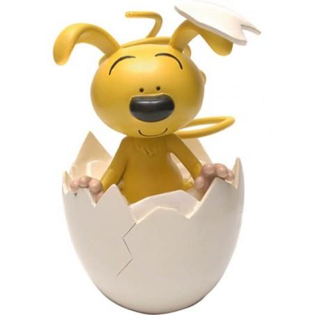 Marsupilami spaarpot Kleine Marsupilami kruipt uit ei