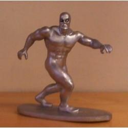 Superhelden poppetje Silver Surver 1990 (Zilveren Surfer)