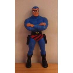 Superhelden poppetje Phantom blauw 1990 (Fantoom)