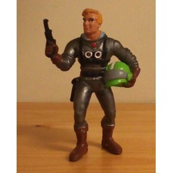 Superhelden poppetje Dan Dare 1990 (Daan Durf)
