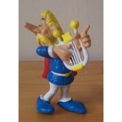 Asterix poppetje Assurancetourix zingt 1994
