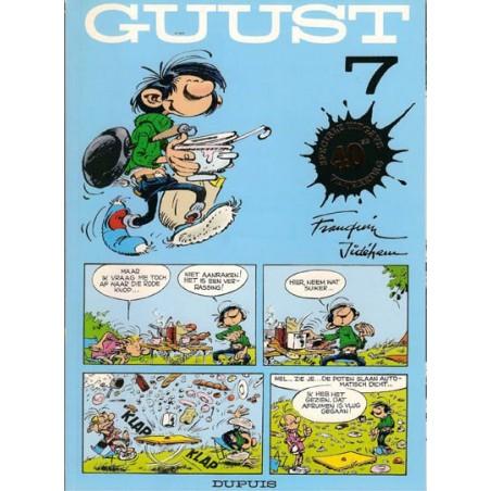 Guust Flater II 07 40ste verjaardag speciale uitgave met vignet 1997