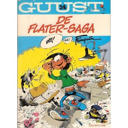 Guust Flater I 14 De flater-saga herdruk (jongleert)