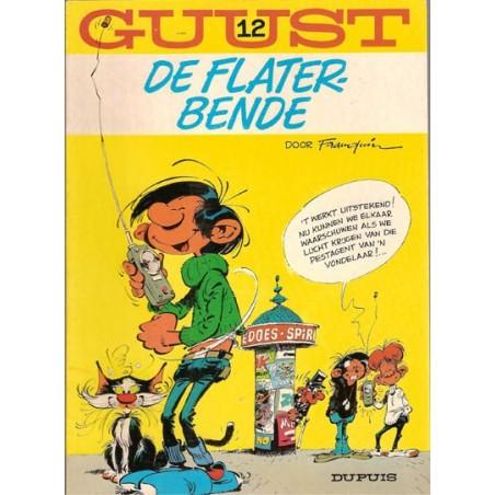 Guust Flater I 12 De Flaterbende herdruk (bed geel)