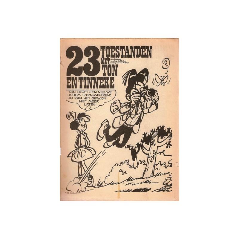 Ton & Tinneke (Ton en Tineke) Peptoe 23 toestanden met Ton & Tinneke 1974