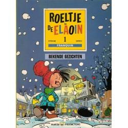 Roeltje en de Elaoin 01 Bekende gezichten 1e druk 1990 (naar Franquin)