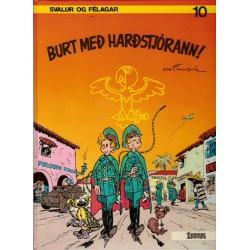 Robbedoes taal IJslands HC Burt med hardstjorann! (De dictator en de paddestoel)
