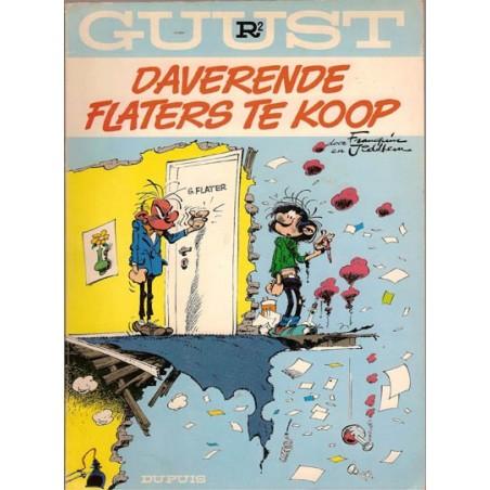 Guust Flater I 02R Daverende flaters te koop herdruk 1977 (achterkant: sneeuwballen)