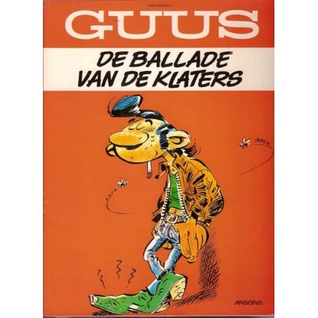 Guust Flater parodie De ballade van de Klaters herdruk