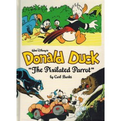 Donald Duck  Carl Barks Library 09 HC The pixilated parrot