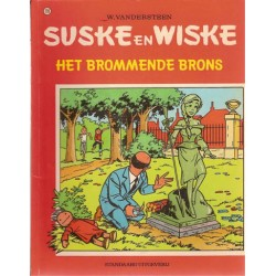 Suske & Wiske 128 Het brommende brons 1e druk 1972