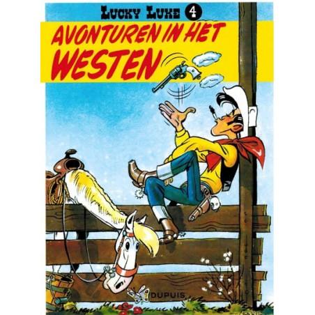 Lucky Luke  I 04 Avonturen in het westen