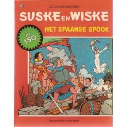 Suske & Wiske 150 Het Spaanse spook 1e druk 1974