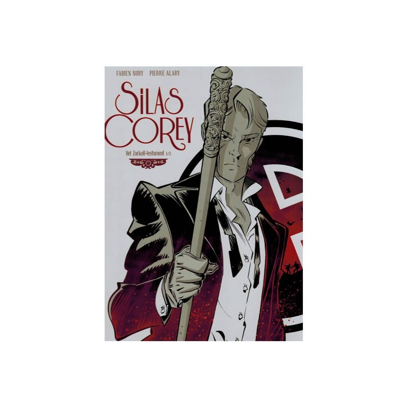 Silas Corey set HC Het Zarkoff-testament deel 1 & 2 1e drukken 2015-2016