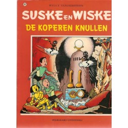 Suske & Wiske 182 De koperen knullen 1e druk 1982 (met bibliografie S&W)