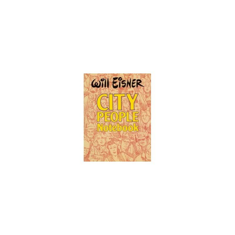 Eisner City people notebook SC first printing 1989