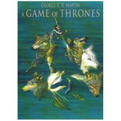 Game of thrones box I deel 1 t/m 4 in luxe cassette (naar George R. R. Martin)