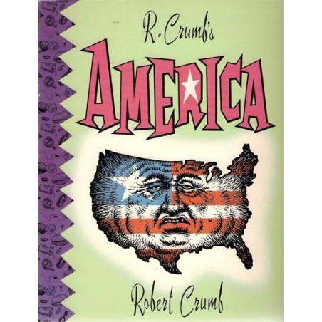 Crumb  strips R. Crumb's America Engelstalig