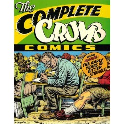 Crumb  strips The complete Crumb Comics 01 The early years of bitter struggle Engelstalig