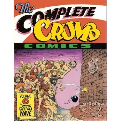 Crumb  strips The complete Crumb Comics 06 On the Crest of a wave Engelstalig