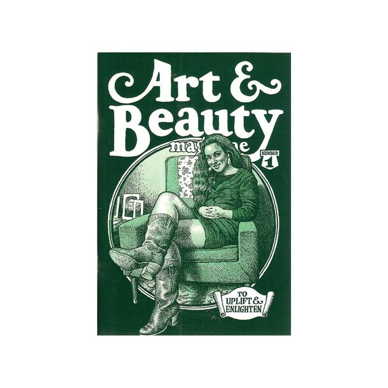 Crumb illustraties Art & Beauty magazine set deel 1 & 2 first printing 1996-2003 Engelstalig