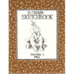 Crumb illustraties Sketchbook 03 1966 first printing 1993 Engelstalig