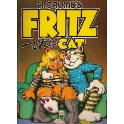 Crumb strips Fritz the Cat Nederlandse uitgave 1e druk 1972
