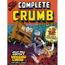 Crumb strips The complete Crumb Comics HC 16 The mid 1980s first printing 2002 Engelstalig