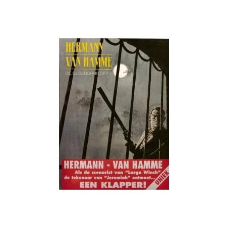 Hermann strips Bloedbruiloft 1e druk 2000 met sticker