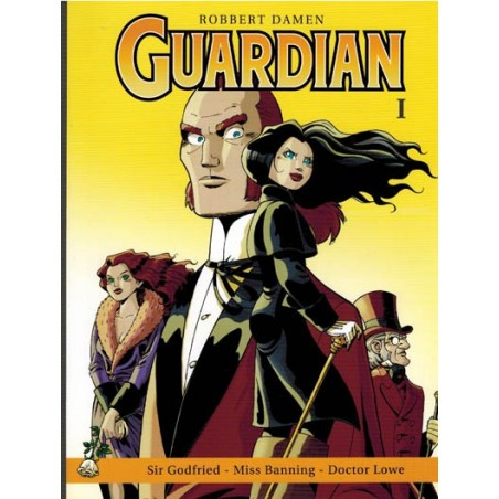 Guardian 01 Sir Godfried / Miss Banning / Docter Lowe