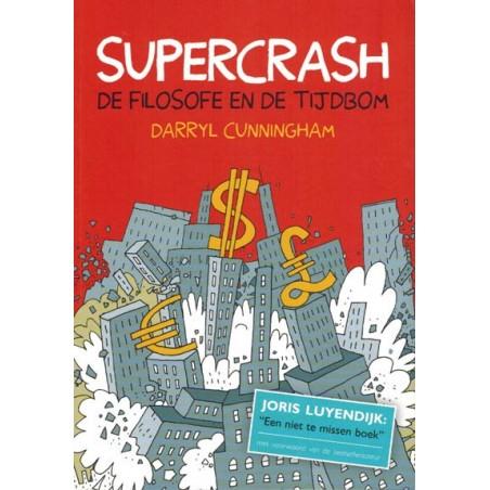 Cunningham strips Supercrash De filosofe en de tijdbom