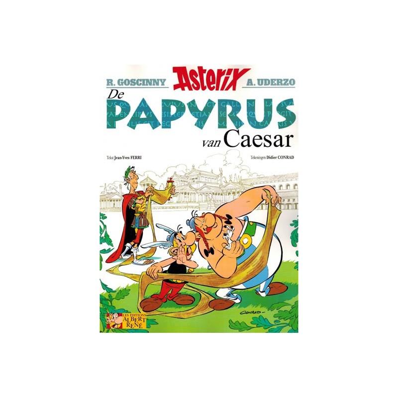 Asterix  36 De papyrus van Caesar