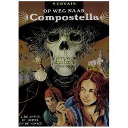 Servais  strips HC Op weg naar Compostella 02 De Ankou, de duivel en de novice
