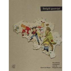 De Weyer boeken Belgie gestript HC Het ultieme naslagwerk over de Belgische strip