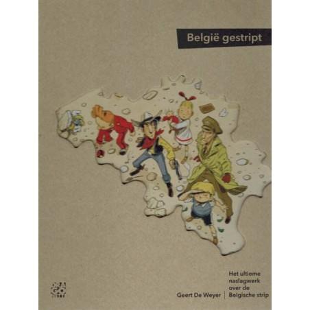 Belgie gestript HC Het ultieme naslagwerk over de Belgische strip