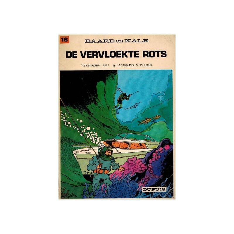 Baard en Kale 18% De vervloekte rots 1e druk 1972