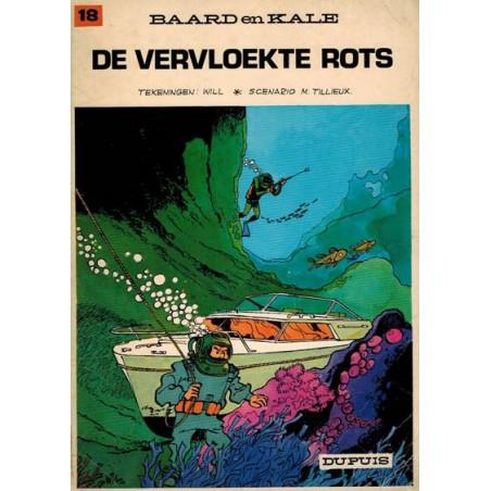 Baard en Kale 18 De vervloekte rots 1e druk 1972