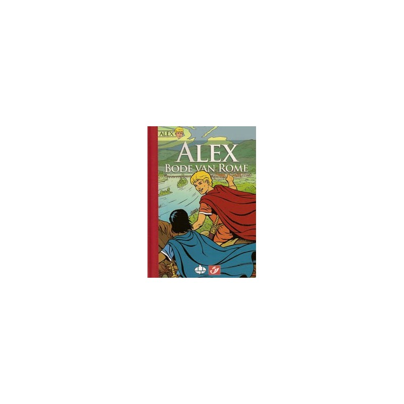 Postzegelboekje Alex Bode van Rome HC Luxe