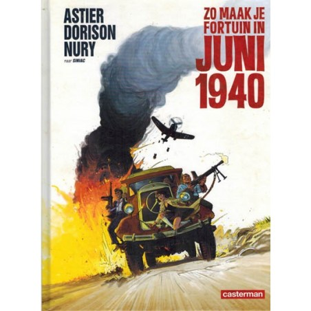 Astier strips HC Zo maak je fortuin in juni 1940